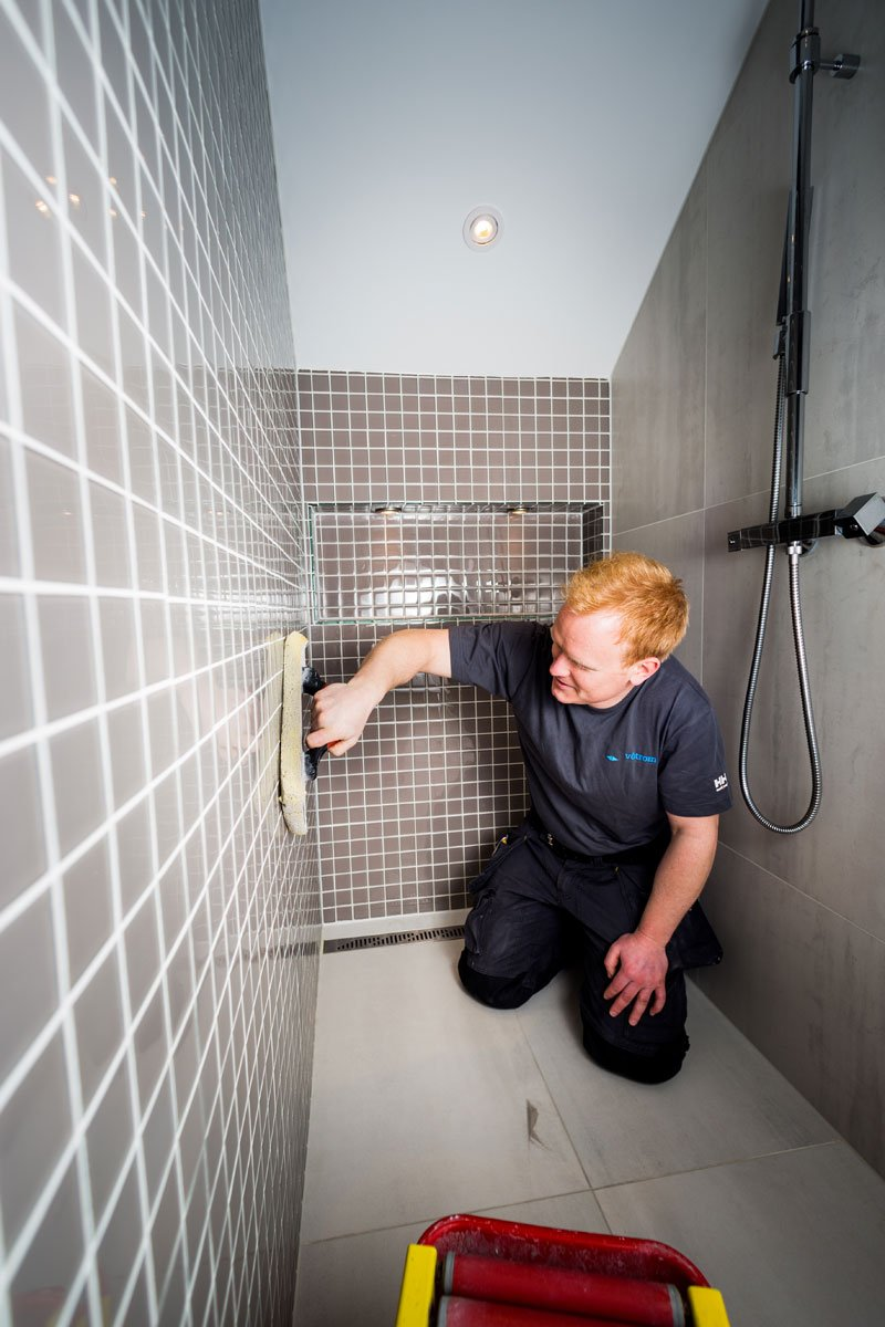Vi leverer totalrenovering av bad og baderomsoppussing