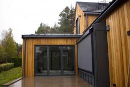 Hus i sedertre på Konnerud i Drammen (etter)