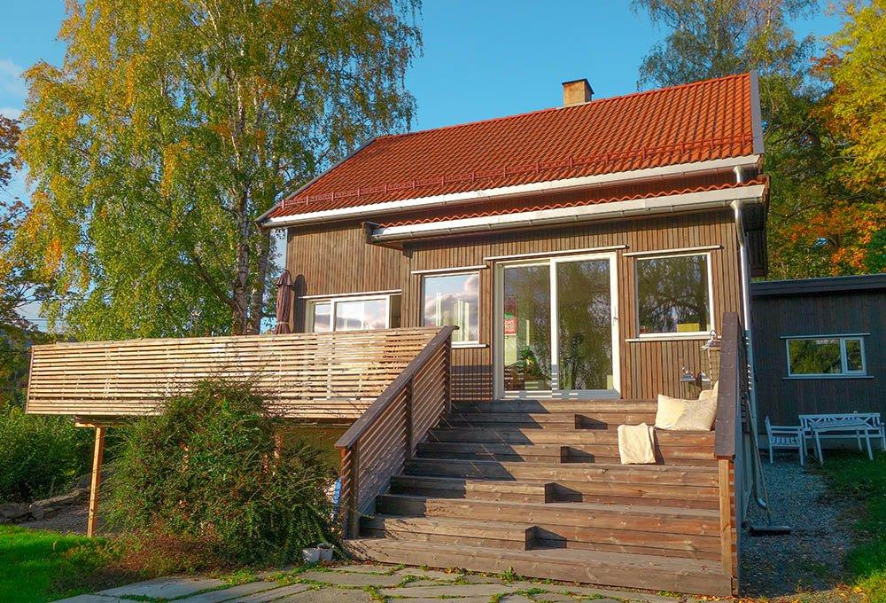 Bjerkaasen: Et transformert hus fra 50-tallet