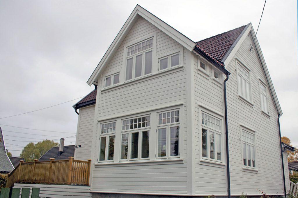 Traneveien 2: Isolering og utbygging av rom og veranda