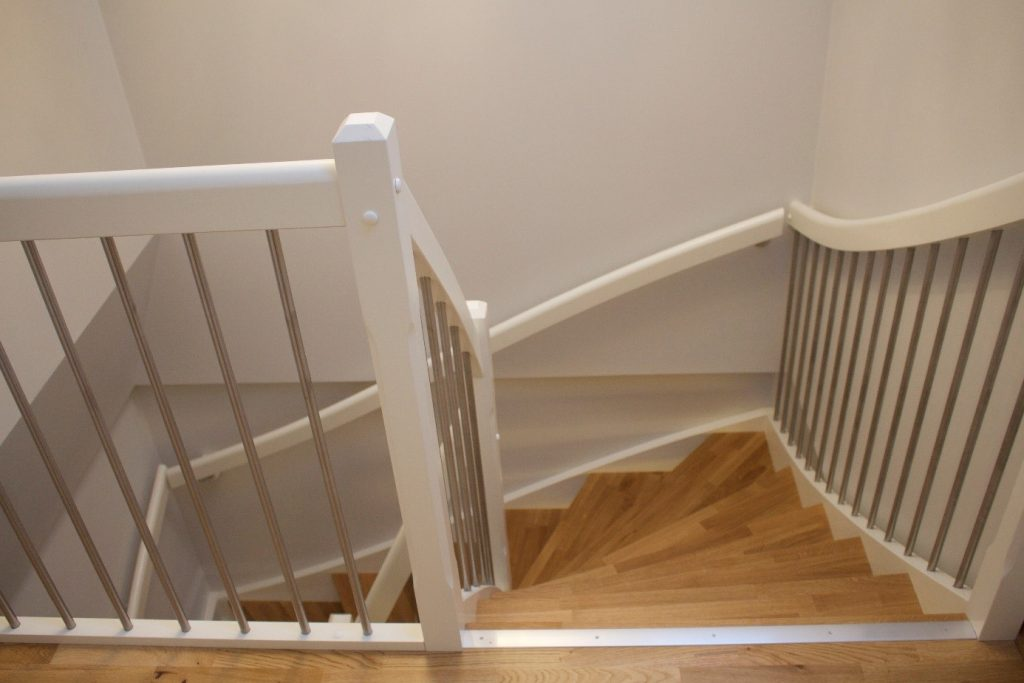 Ny trapp opp til 3. etasje