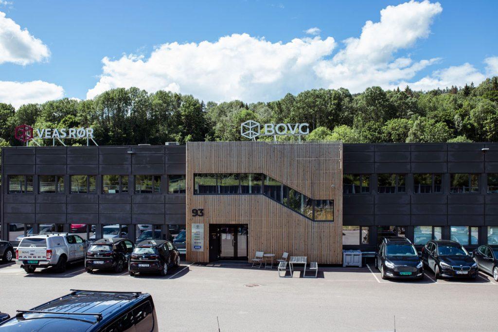 BOVG bygningen i Kobbervikdalen,