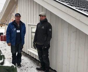 Christoffer Gundesø fikk svennebrev i tømrerfaget i februar 2019 og er i dag formann på egne prosjekter i BOVG Bygg og Våtrom.